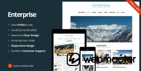 Enterprise - Responsive Magazine, News, Blog
